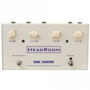 Headroom Spring Reverb Effects Pedal