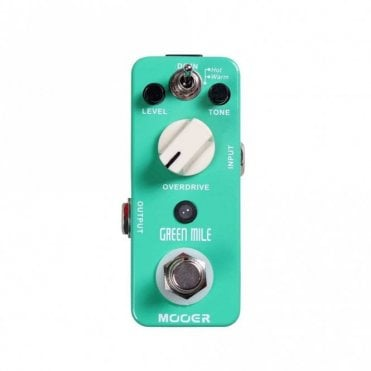 Green Mile Micro Series Overdrive Pedal
