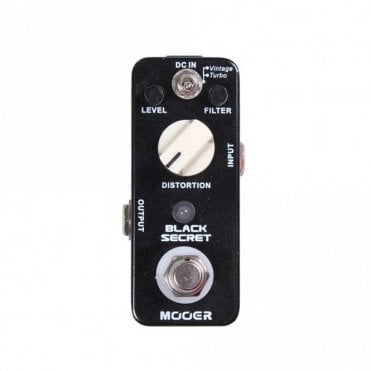 Black Secret Micro Series Distortion Pedal