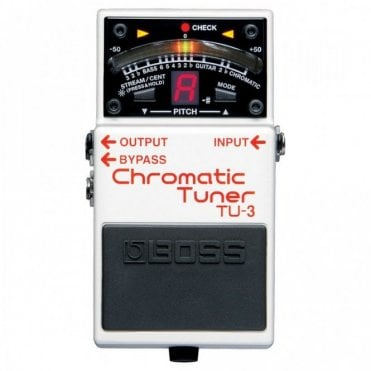 TU-3 Chromatic Tuner Guitar Pedal