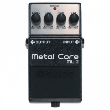 ML-2 Metal Core Effects Pedal Stompbox