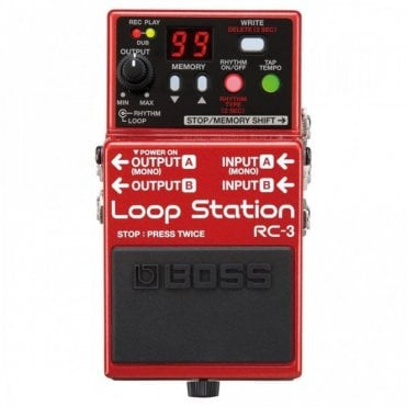 RC-3 Stereo Loop Station Pedal Guitar Effects Pedal