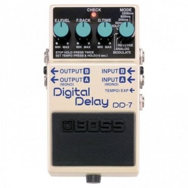 DD-7 Digital Delay Stereo Guitar Effects Pedal (No Box)