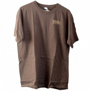 Luthier T-Shirt, Brown Vintage - Genuine Paul Reed Smith