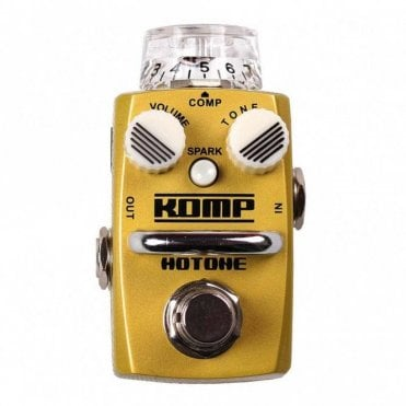 Komp Opto Compressor / Sustainer Guitar Effects Pedal