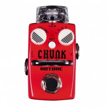 Chunk Distortion Guitar Effects Pedal