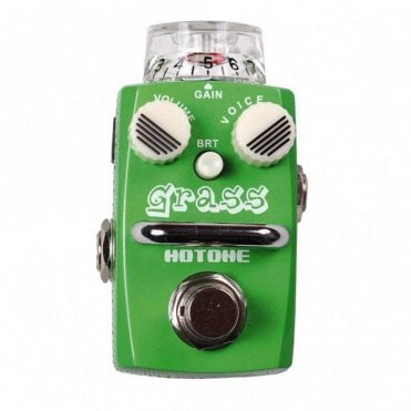Grass Overdrive Guitar Effects Pedal