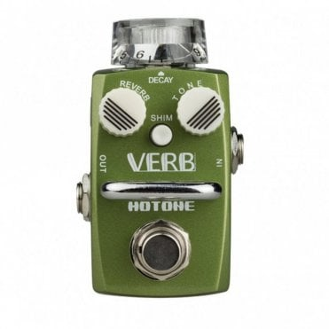 Verb Digital Reverb Guitar Effects Pedal