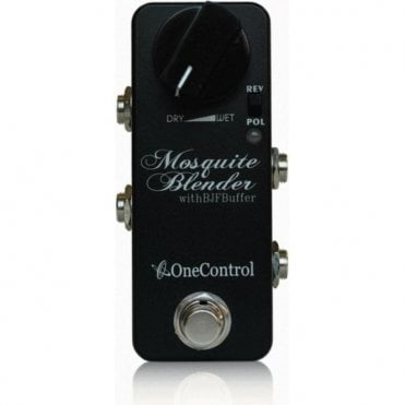 Mosquite Blender V2 with BJF Buffer Effects Pedal