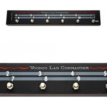 Commander Switcher For Guitar Effects Pedals