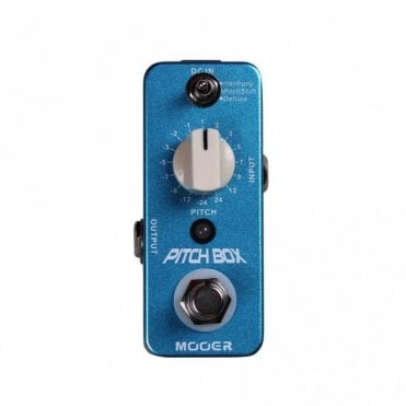 Pitch Box Harmony Pitch Shifter Effects Pedal