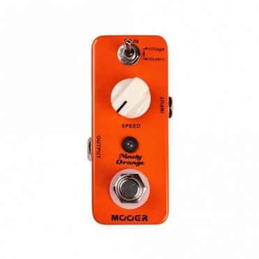 Ninety Orange Phaser Guitar Effects Pedal
