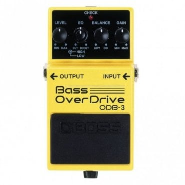 ODB-3 Compact Bass Guitar Overdrive Pedal