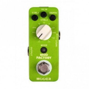 Mod Factory All In One Modulation Effects Pedal