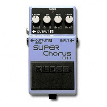 CH-1 Super Chorus Guitar Effects Pedal