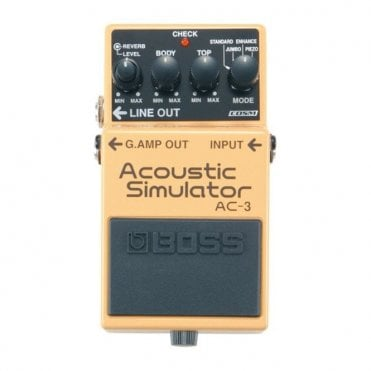 AC-3 Acoustic Simulator Compact Guitar Effects Pedal