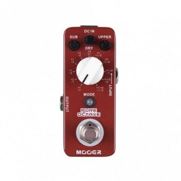 Pure Octave Polyphonic Octaver Effects Pedal