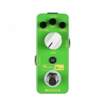 Rumble Drive Overdrive Guitar Effects Pedal