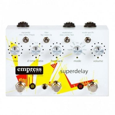 Superdelay Guitar Effects Delay Pedal