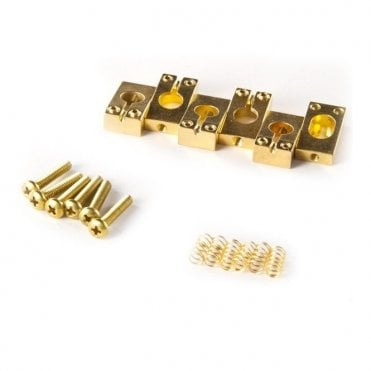 Spare - Tremolo Saddles, Gold, Set of 6 - ACC-4022