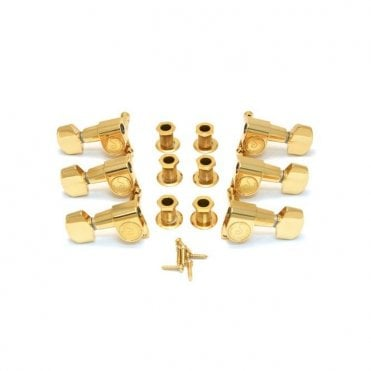 Rickenbacker M6 Guitar Machinehead Set - Gold (5000535)