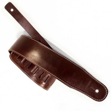 Richter Luxury Glaced Brown Guitar Strap