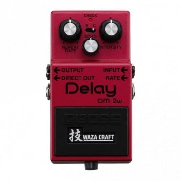 DM-2w Waza Craft Special Edition Delay Pedal (No Box)