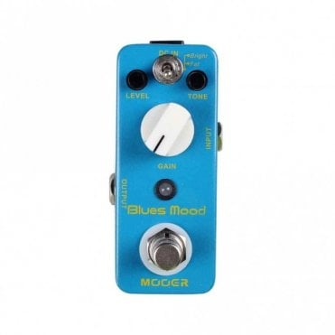 Blues Mood Overdrive Guitar Effects Pedal