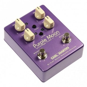 Purple Moon Vibe and Fuzz Pedal