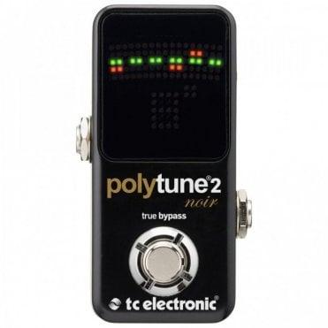 PolyTune 2 Noir, Mini Guitar Tuner Pedal