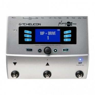 Play Electric Vocal / Guitar Effects Unit