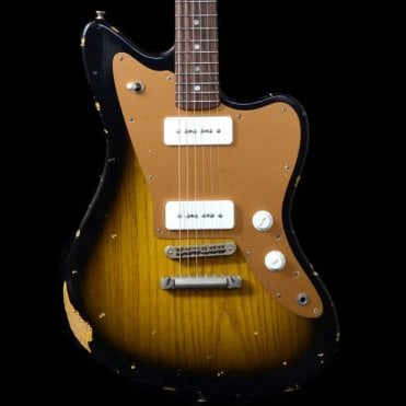 Alt de Facto JM6, 2-Tone Sunburst, Medium Distressed