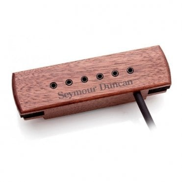 Woody XL SA-3XL Adjustable Acoustic Pickup - Walnut