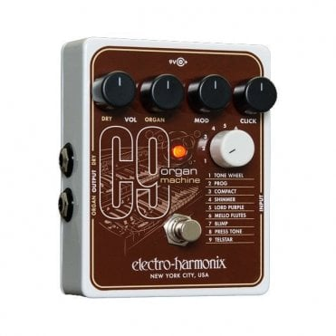 C9 Organ Machine Guitar Effects Pedal