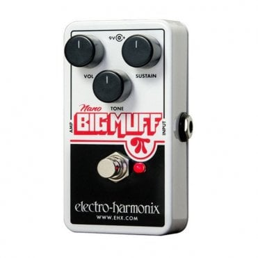 Nano Big Muff Pi Distortion Sustain Guitar Effects Pedal