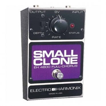 Small Clone Chorus Guitar Effects Pedal