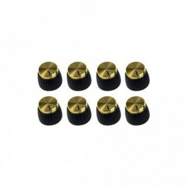 Push-on Gold Knobs - 8 Pack (PACK-00023)