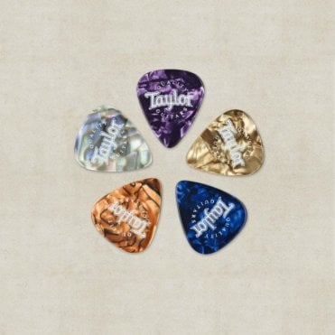Picks, Marble Assortment, Plectrum Set of (10)