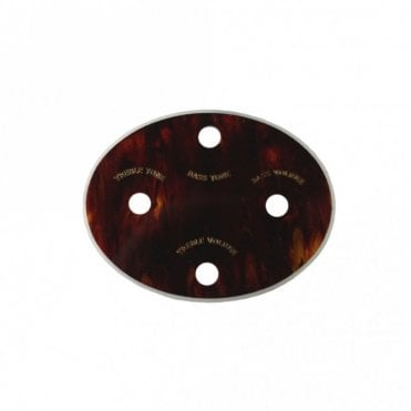 Control Panel Oval Tortoiseshell (HA1BT)