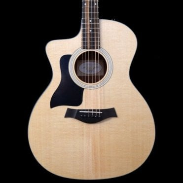 114ce Solid Top Electro Acoustic Guitar Left-Handed With Cutaway