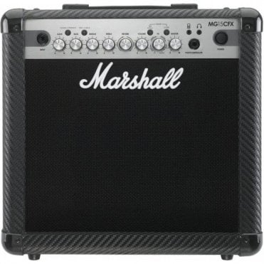 MG15CFX Carbon Fibre 15 Watt Combo Amplifier w/ Effects