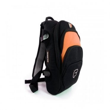 F1 Small Back Pack - Black / Orange (F1-19)