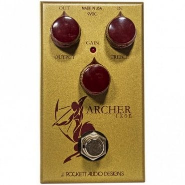 Archer Ikon Overdrive Guitar Effects Pedal