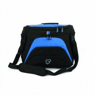 Workstation Courier Laptop Backpack - Black / Blue (F1-44)