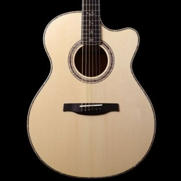 Angelus Cutaway Artist Package, Flamed Koa Back & Sides