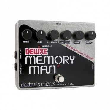 Deluxe Memory Man Analog Delay/Chorus/Vibrato Effects Pedal