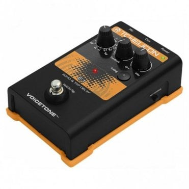 VoiceTone E1 Echo & Tap Delay Vocal Processor Pedal