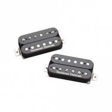 Pearly Gates Humbucker Set for Neck and Bridge (Black)