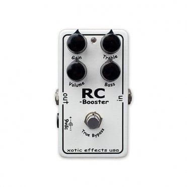 RC Booster Clean Boost Pedal
