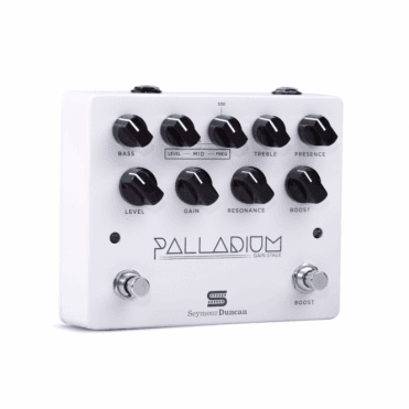 Palladium Gain Stage Drive Pedal - White